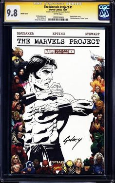 One of those blank Marvel cover comic books illustrated by the Great Paul!