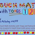 Touch Math Multisensory Activities - with tongs and block templates!    Touch Math!  Multi-sensory Activities - no pencil needed!  Use in centers, or...