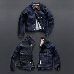redand51ue: The Denim Index: @Levis Vintage Type I, II & III Jackets