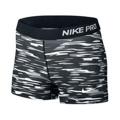 Women's Nike Pro Haze 3 Inch Shorts ($26) ❤ liked on Polyvore
