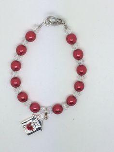 Christmas  Homemade Jewelry, Charmed, Bracelets, Christmas, How To Make, Charm Bracelets, Navidad, Weihnachten, Bracelet