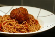 Crockpot Spaghetti Sauce and Meatballs