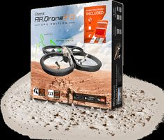 Drone Elite Edition maneuvers intuitively with a smartphone or tablet and offers exceptional sensations right from take-off. Ar Drone, Wi Fi, Parrot, Smartphone, Gadgets, Ipad, Iphone, Nice, Toys