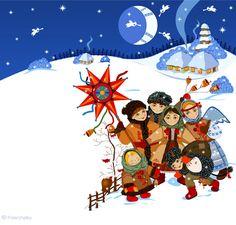 Didukh, Kalada and Midnight Star, Ukraine Winter Solstice