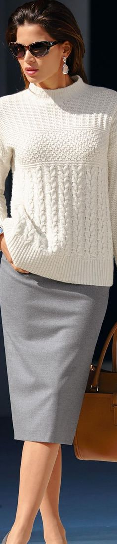 MADELEINE Skirt and Sweater | LOLO ᘡղbᘠ