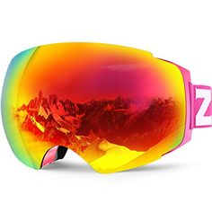 8286656a8f03   Special Price   Zionor X4 Ski Snowboard Snow Goggles Magnet Dual Layers  Lens Spherical Design