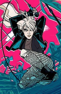 Black Canary #1 by Annie Wu *