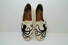 Octopus Custom TOMS Shoes by KellismCo on Etsy, $75.00 by nettie
