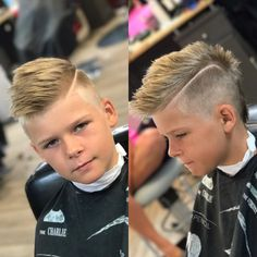 Medium length hair styles are the trend these days when it comes to men's looks. These styles are simple to create and give men suave and well groomed looks with a bit of flair. Boys Fade Haircut, Hard Part Haircut, Boy Haircuts Short, Cool Haircuts, Haircuts For Men, Men's Haircuts Fade, Mens Medium Length Hairstyles, Boy Hairstyles, High And Tight Haircut