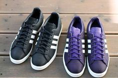 Adidas Original Campus 80s 'Ballistic' Pack Goes Simple & Stylish #Shoes #Footwear trendhunter.com