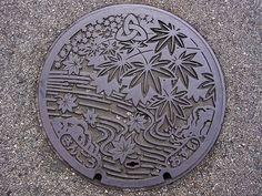 Sango,Nara manhole cover(奈良県三郷町のマンホール) by MRSY, via Flickr