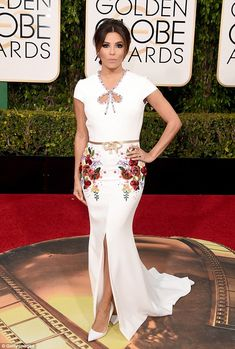 Solo!The 40-year-old Texan did not walk the carpet with her new fiance Jose Antonio Basto...