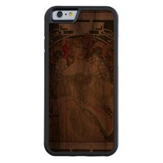Beutiful Girl - Famous Poster -Best Apple iPhone 6 Carved® Walnut iPhone 6 Bumper