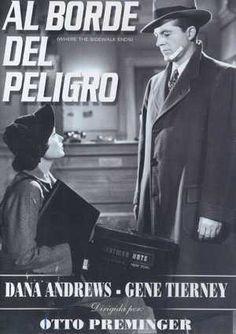 DVD CINE 641 - Al borde del peligro (1950) EEUU. Dir: Otto Preminger. Suspense. Sinopse: Marx Dixon é un conflitivo policía marcado polo forte carácter do seu pai. No transcurso dunha investigación, fere de morte a un sospeitoso e oculta o crime. Un taxista é acusado como presunto autor do asasinato. E, mentres tanto, Mark namórase da súa bela filla.