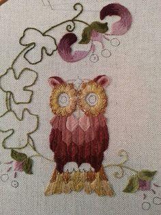 owls open leaves