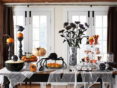 Spooky dinner table,  How-to listed on the web site