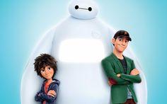 Hiro, Baymax and Tadashi Big Hero 6 poster - Caarton Disney Pixar, Walt Disney, Disney And Dreamworks, Disney Love, Disney Magic, Hiro Big Hero 6, The Big Hero, Big Hero 6 Baymax, Big Hero 6 Tadashi