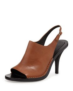 Stella Leather Slingback Sandal by Alexander Wang at Bergdorf Goodman.