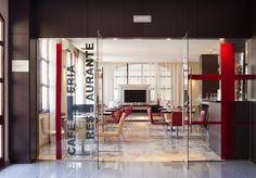El servicio de cafetería-restaurante está totalmente disponible para ti. ¿Qué te apetece tomar?
