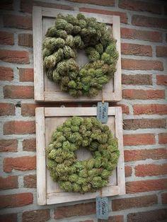 Høstdekorasjon - Lilly is Love Diy Wreath, Burlap Wreath, Christmas Diy, Christmas Decorations, Holiday Decor, Queen Annes Lace, Decoration Inspiration, Autumn Garden, Nature Crafts