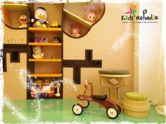 Playroom by Kids Republik 2011  Location : Jakarta, Indonesia  Theme : Garden & Castle