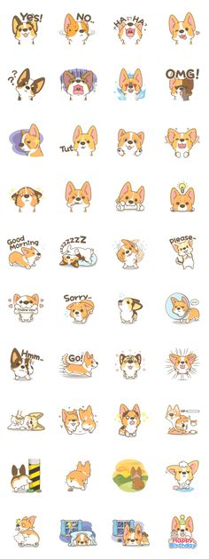 画像 - Corgi a collection by Pon Mei - Line.me
