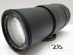 L1232FC SIGMA ZOOM 100-300mm F4.5-6.7 UC φ55 ジャンク_画像1