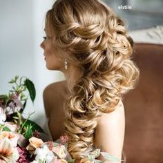 Elstyle - Pasadena, CA, United States. Wedding hair and makeup by Elstile