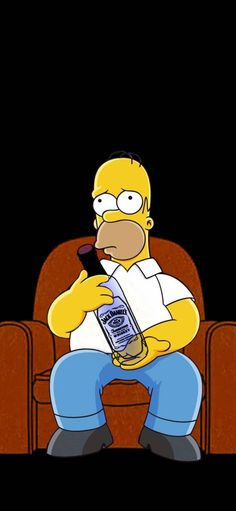 Image discovered by Zoé on We Heart It Simpson Wallpaper Iphone, Cartoon Wallpaper Iphone, I Wallpaper, Simpsons Funny, Simpsons Art, Homer Simpson, Parks And Recreation, Desenho Pop Art, Simpsons Characters