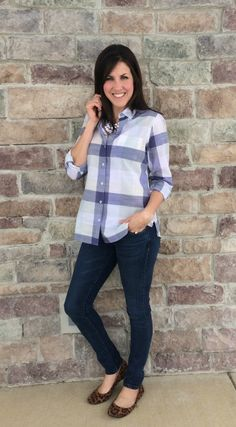 Buffalo Check Blouse