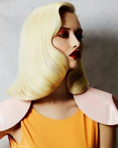 We love the hair and make-up from this photograph from German Vogue