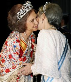 Empress Michiko and Queen Sofia Of Spain Visit Japan