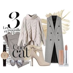 Neutral Pains by themodernalice on Polyvore featuring rag & bone, AG Adriano Goldschmied, Jimmy Choo, Barbour and Illesteva