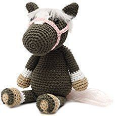 Free crochet horse pattern. Make your own crochet horse toy using these clear, easy to follow crochet instructions and crochet pattern.