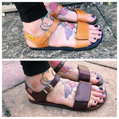 a5fb65665e99 Review  Tikki Funky Vibes adjustable strap sandals for women - BareSteps