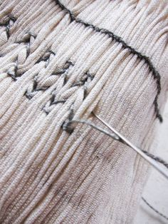 Smocking tutorial from Eddie Luciano
