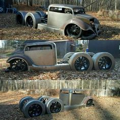 Could be a cool Rat Rod. #hotrodsvintagecars