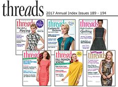 Download the 2017 Threads Annual Index - Threads