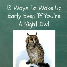 13 Ways To Wake Up Early Even If You're A Night Owl - How To Wake Up Early
