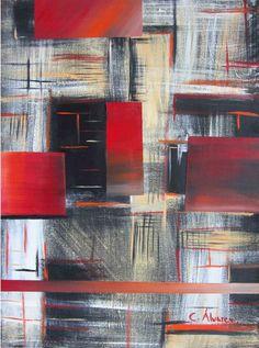 Título: Abstracto en Rojo. Autor :Cecilia Alvarez. Impresiones en canvas firmadas por el autor y numeradas. Medidas: 50 x 60 cms., 70 x 80 cms. y 90 x 100 cms. Pregunta por el precio.