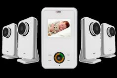 """(CLICK IMAGE TWICE FOR DETAILS AND PRICING) video infant monitor. Safe and stylish video baby monitor solution with night vision, a """"talk-to-baby"""" intercom and audio activated alerts. See More Video baby monitor at http://www.ourgreatshop.com/Video-baby-monitor-C234.aspx"""