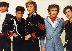"Duran Duran - I remember seeing them on MTV for the 1st time - Simon coming out of the water in ""Hungry Like the Wolf""."