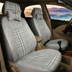66.99$  Watch here - http://ali527.worldwells.pw/go.php?t=32752814375 - (Only 2 front)Universal car seat covers For Lada 110 111 112 Kalina Niva Vesta XRAY Granta car accessories car styling