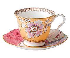 Tasse butterfly bloom porcelaine de chine