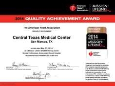 #CTMC receives American Heart Association's Mission: Lifeline recognition for #HeartAttack care.