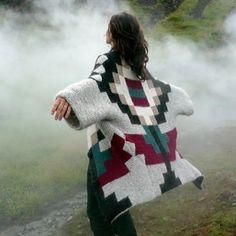 icelandic design made of icelandic wool, light, warm neat
