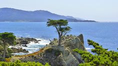 17 Mile drive. Scenic lookout