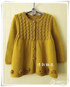 We give you ideas for kids cardigans knitting patterns prepared . We have prepared knitting models for children to give you suggestions. Numbers are available in the schema. Knitted Baby Cardigan, Knitted Baby Clothes, Knitted Coat, Knitting For Kids, Baby Knitting Patterns, Free Knitting, Baby Coat, Crochet Girls, Baby Sweaters
