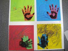 laughpaintcreate: Pop Art Handprints
