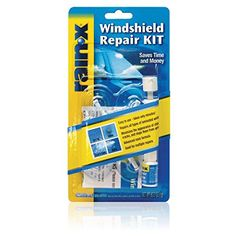 Rainx Fix A Windshield Do It Yourself Windshield Repair Kit, For Chips, Cracks, Bulll's-Eyes And Stars (2 Pack, 2015 Amazon Top Rated Windshield & Glass Repair Tools #AutomotivePartsandAccessories